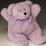 LAVENDER LOU, the lilac bear 12""