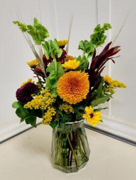 EF  1 Fall Wheat Bouquet