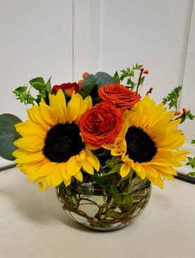 EF  3  Sunflower Bowl