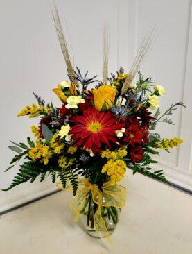 EF  4 Fall Harvest Bouquet